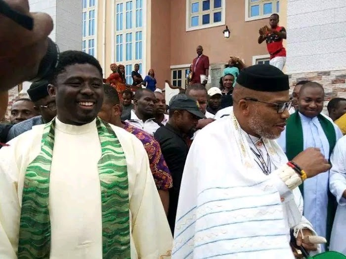 Nnamdi Kanu Has More Loyalists, Respect Than Ojukwu, whether you like it or not – Rev. Ebube Muonso (Video)