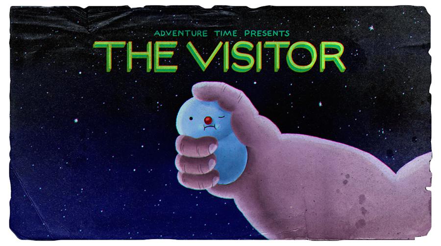 Hora de Aventura: A Visita