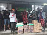 Peduli Bencana: 234 SC Regwil Pacet Turut Bantu Korban Banjir Bandang