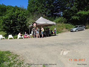 Photo: zicht op de rustpost