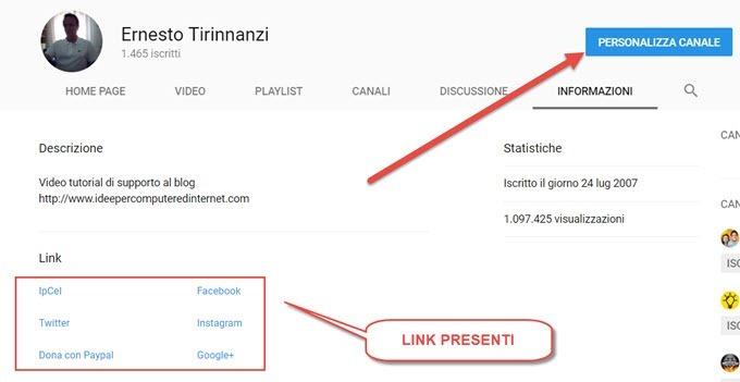 personalizzazione-link