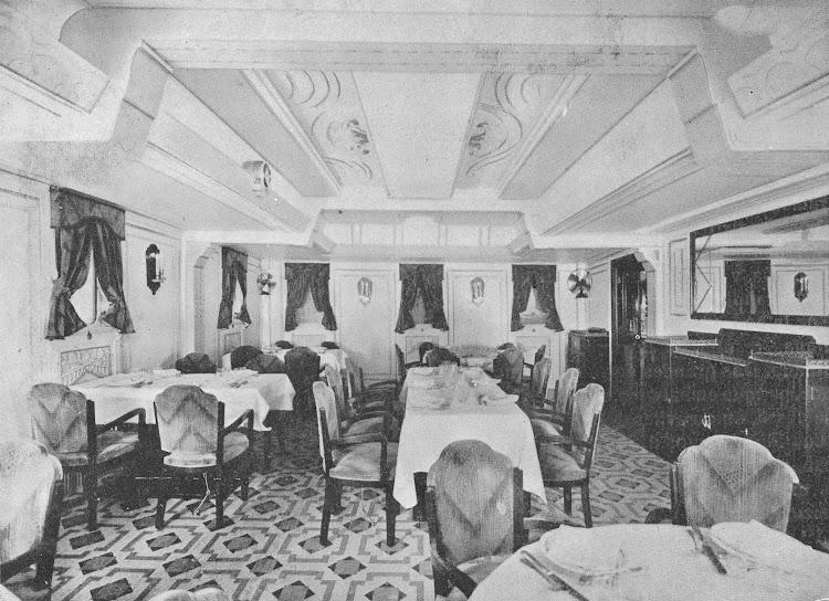 6- CIUDAD DE IBIZA. Comedor de primera clase. Revista de Ingenieria Naval. Abril de 1934.jpg