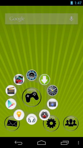 CircleLauncher light screenshot 1