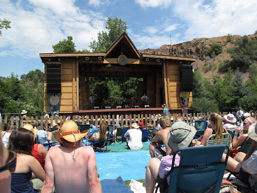The mainstage at RockyGrass