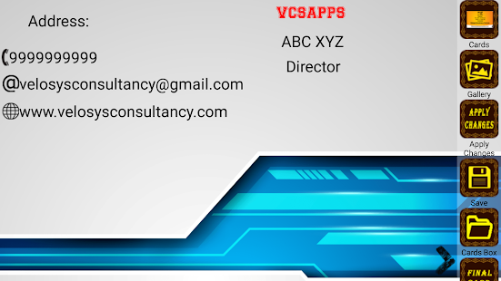 Visiting Card Maker - HD- screenshot thumbnail