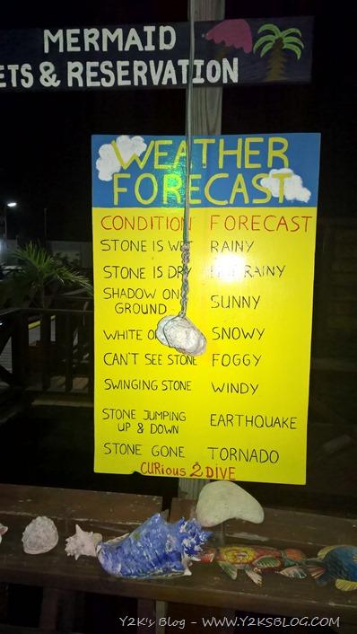 Previsioni del tempo di Curaçao, accuratissime !