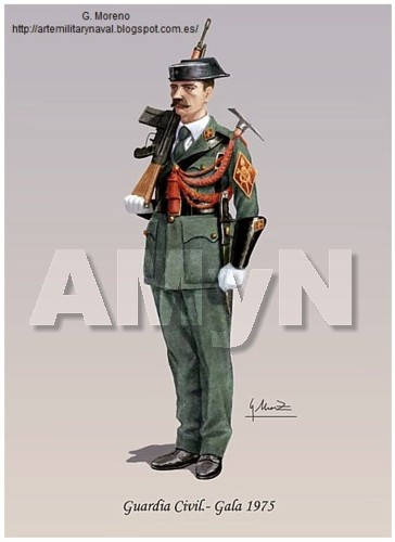 Guardia Civil. Gala 1975