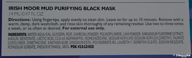 Peter Thomas Roth Irish Moor Mud Purifying Black Mask Review