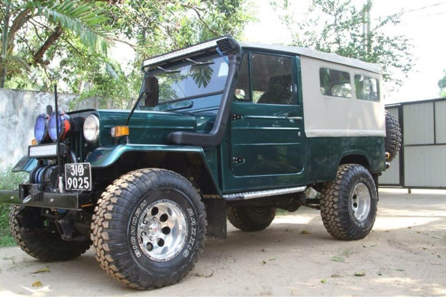 CHATHURANGA MOTORS , Mitsubishi jeep modification in Sri lanka