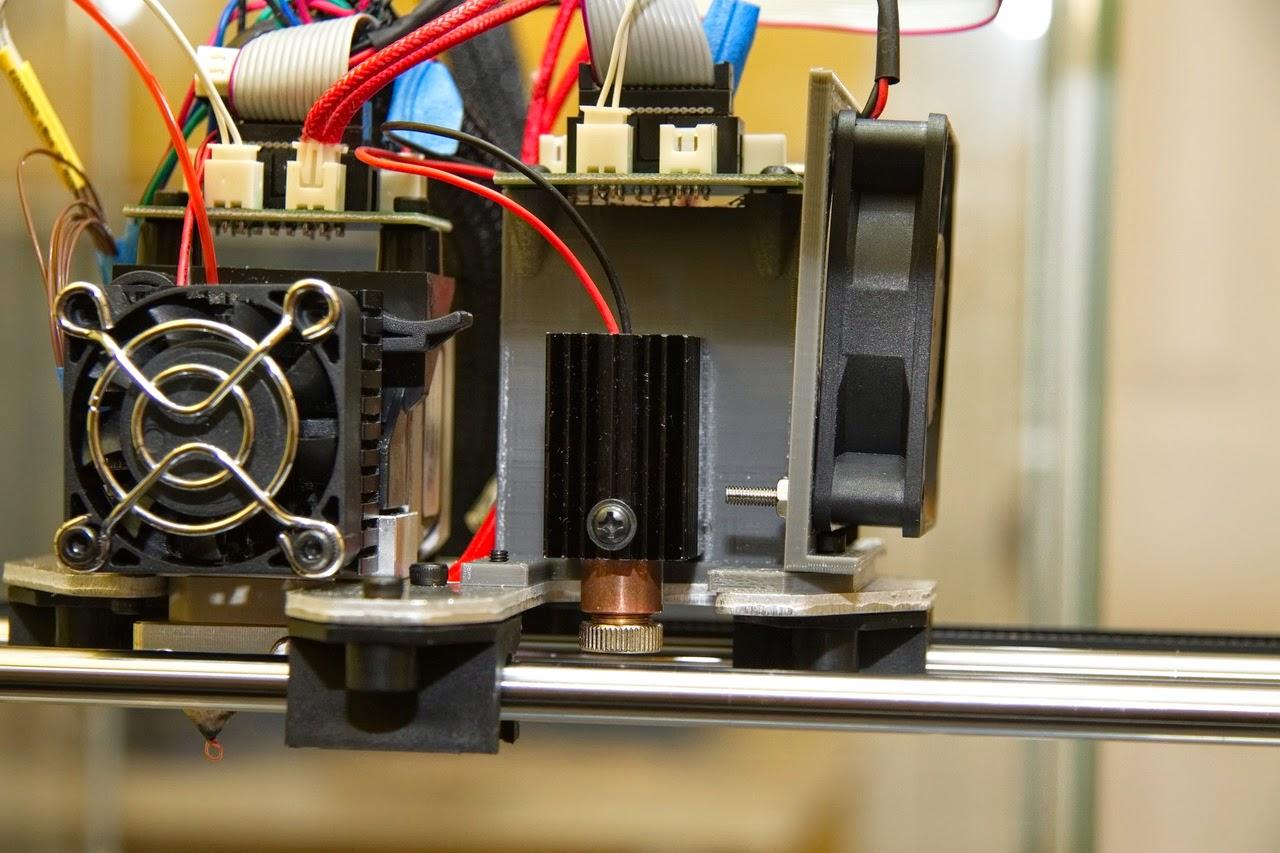 Laser Cutter Addon For Rigidbot 3d Printer Laser Pointers