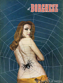 Magda Konopka Italian Magazine Cover Il Borghese