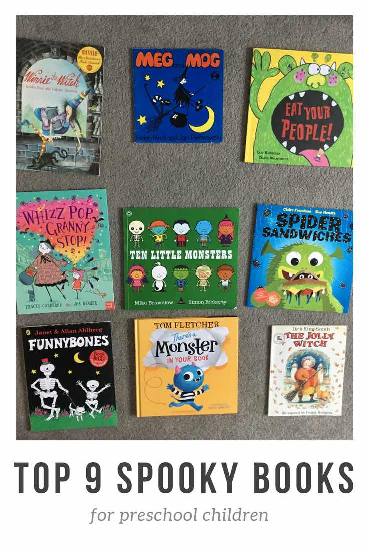 Spooky stories for preschool children