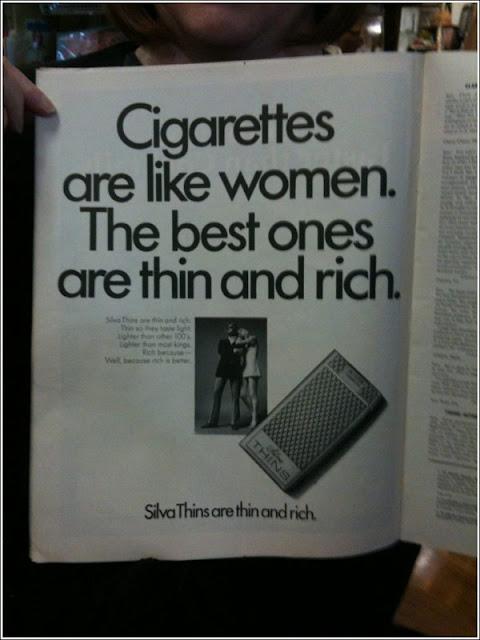 funny cigarette ad