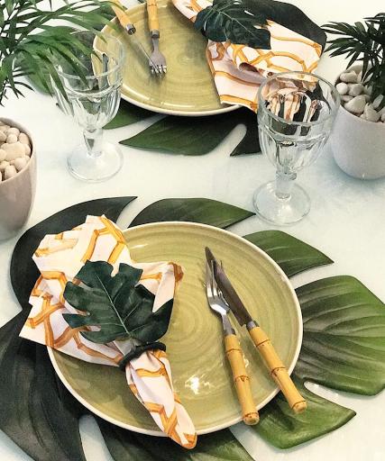 mesa posta. lardocecasa tropical