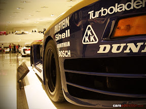 1986 Porsche 961 based on the 959 and built for the Le Mans