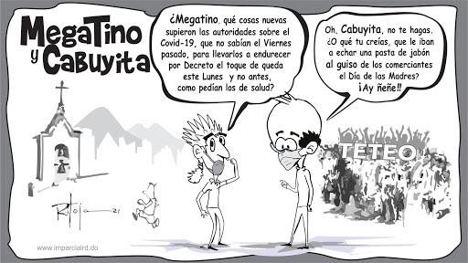 MegaTino y CaBuyita Toque de queda