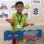 Show and Tell Activity on Transport (Sr.KG.) 30-8-2016