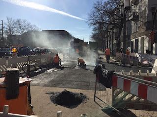 Stöcken: Baustelle Weizenfeldstraße bis Mitte 2023