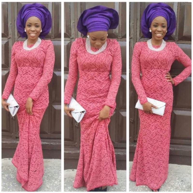 Most beautiful cord lace aso ebi styles fashion qe Fashion and style school in nigeria