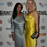 OIC - ENTSIMAGES.COM - Venonica Jean Trickett and Kat Gellin at the  My Hero Film Premiere at Raindance Film Festival London 25th September 2015 Photo Mobis Photos/OIC 0203 174 1069