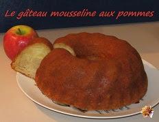 recette facile du gateau mousseline aux pommes