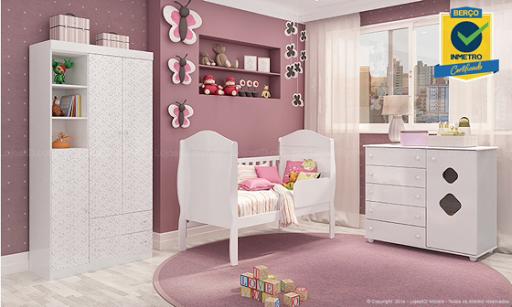 Ideias para quarto de bebe em cor de rosa