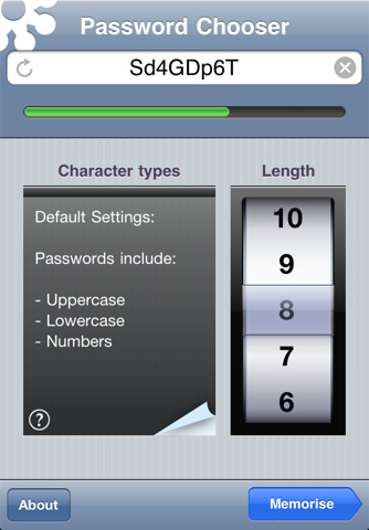 ios, iphone, ipad , ipod touch , PasswordGear, app, apple, password app, passwords
