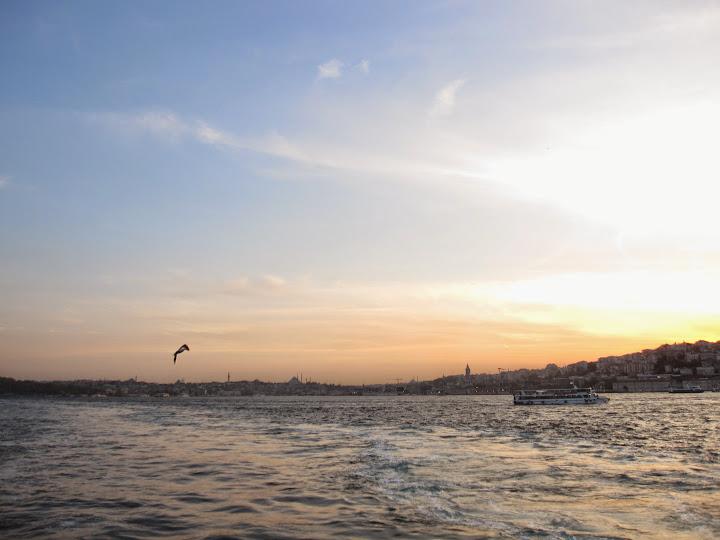 A cruise on the Bosphorus