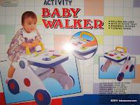 JUNIOR #A-2053 Activity Baby Walker: Stimulasi Imaginasi dan Koordinasi Anak - Walker yang Sebenarnya