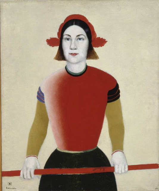 Kazimir Malevich - Girl with a Red Staff