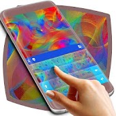 Animated Rainbow Colors Keyboard