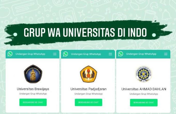 100+ Link Grup Wa Universitas di Indonesia 2021
