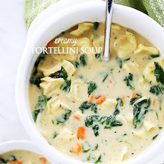 Creamy Tortellini Soup