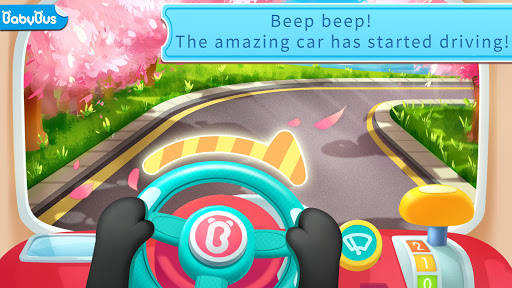 Drive Amazing BabyBus -Baby Panda's School Bus app (apk) free download for Android/PC/Windows screenshot