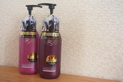 AaronKwok專屬品牌♡AKFS+洗髮潤髮系列