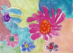 Water Color Flowers by Sophia
