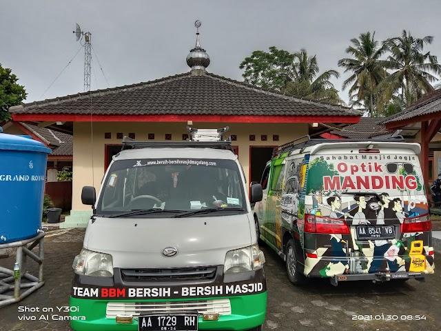 Kegiatan team BBM dan Sahabat Masjid Jogja