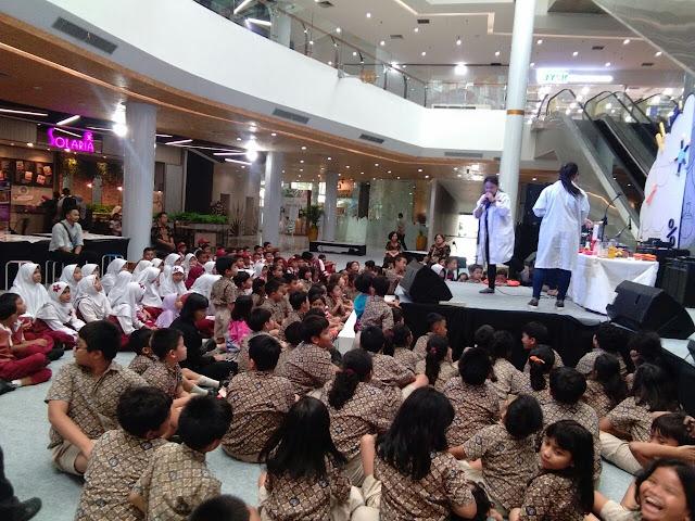 600 anak unjuk kebolehan di acara Bekasi Science week Lagoon Avenue