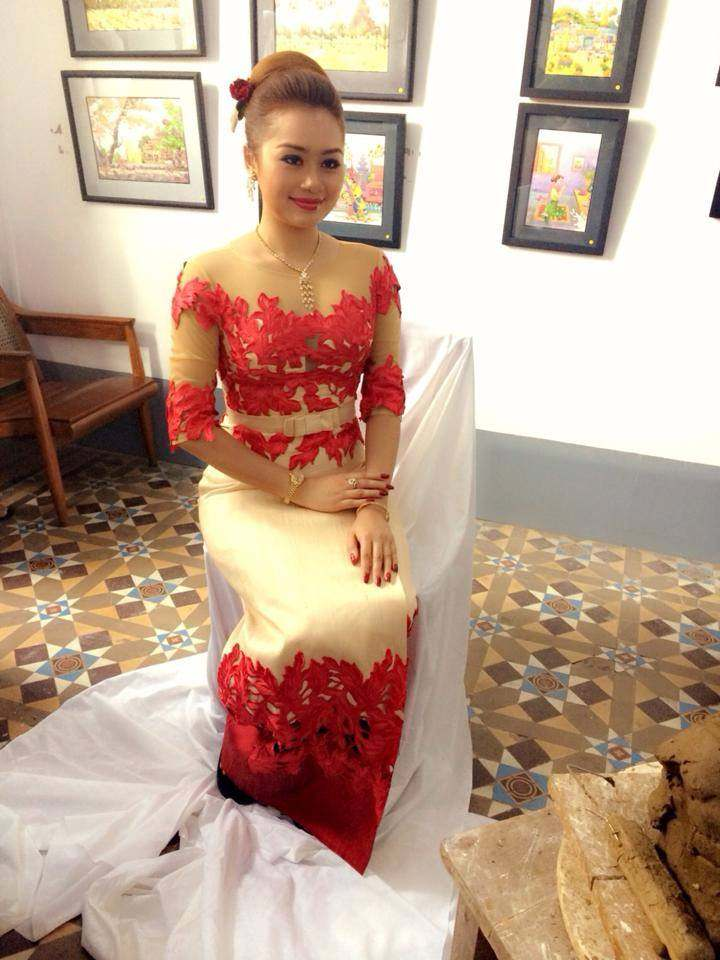 Myanmar Dresses Designer Designs 2016 2017 Styles 7
