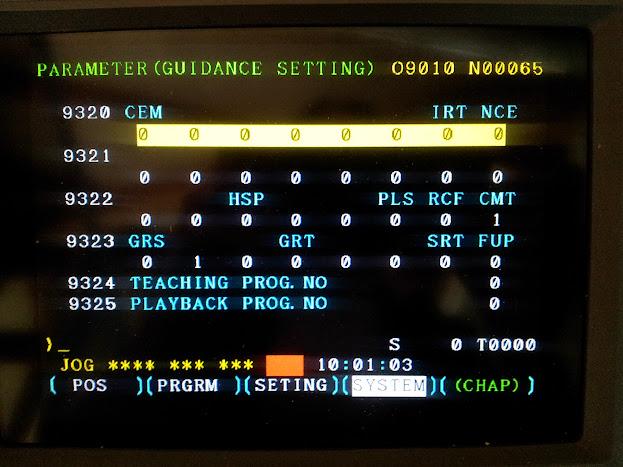 FANUC? M6 toolchange position