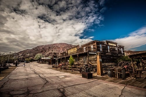 Calico ghosttown Route 66 California
