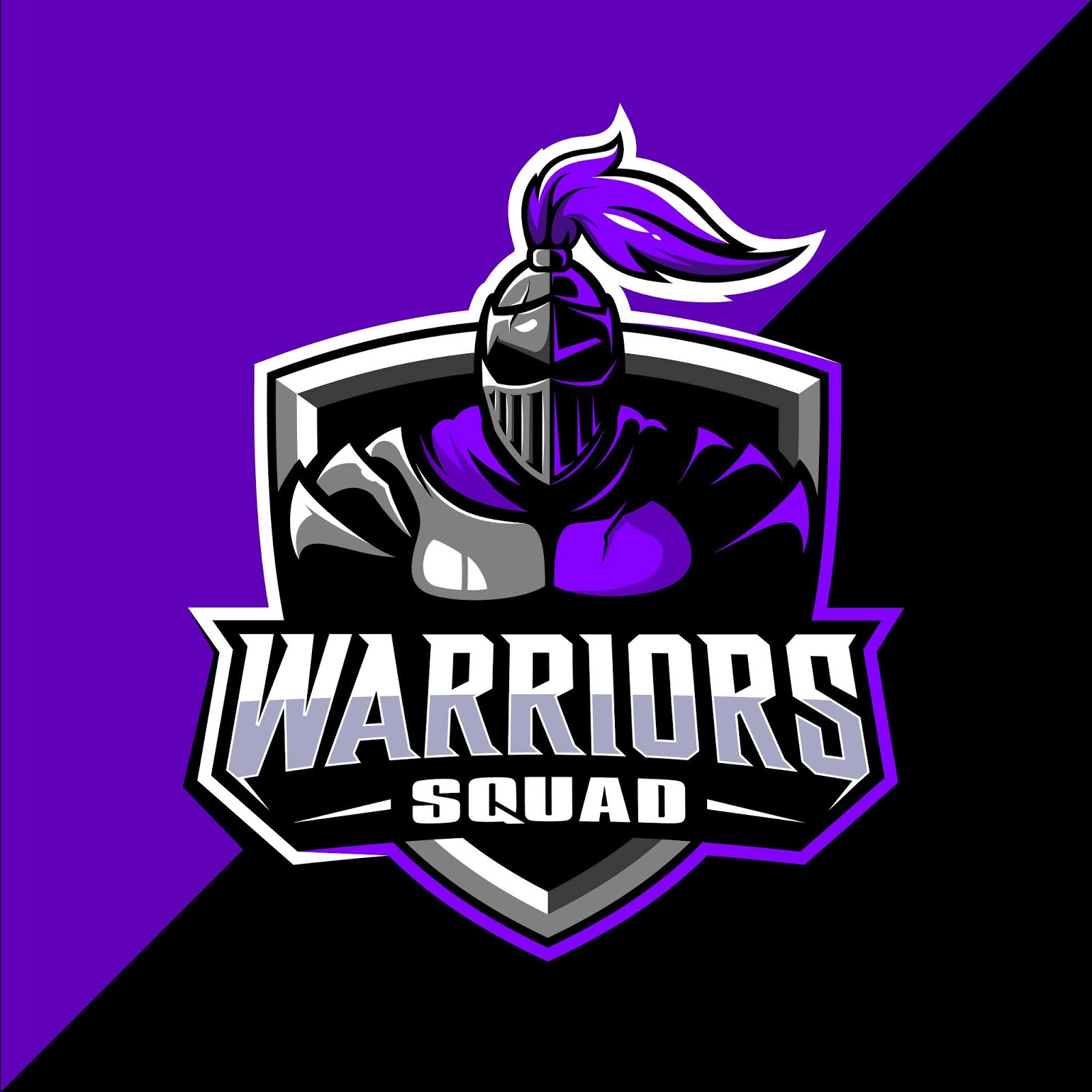 Spartan Warrior Squad Mascot Esport Logo Design Free Download Vector CDR, AI, EPS and PNG Formats