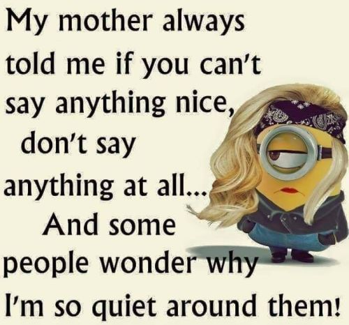 Perfect Minion Quotes