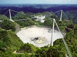 Arecibo Observatory collapsed 1