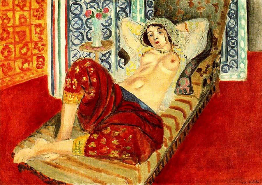 A Matisse odalisque.