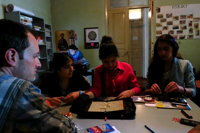 Scrabble at American Corner