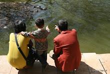 Cuihu Lake : la famille chinoise