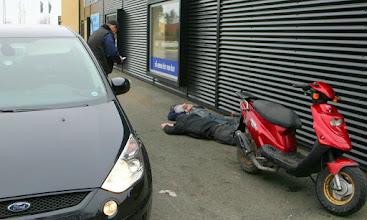 Photo: De kom dog ikke langt tyvene
