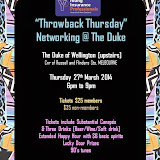 Vic 90's Throwback Thursday event (27 March 2014)