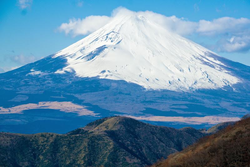 駒ヶ岳ロープウェイ 富士山 写真